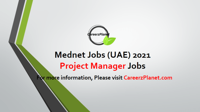 Project Manager Jobs in UAE 21 Apr 2021
