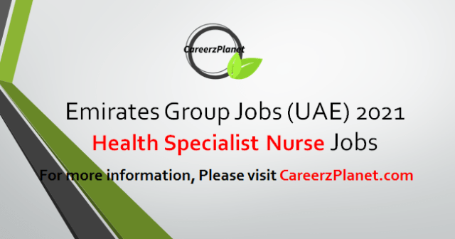 Specialist Nurse Jobs in Dubai 17 Apr 2021
