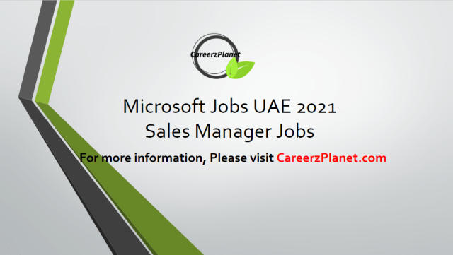 Sales Manager  Jobs in Dubai 11 Apr 2021