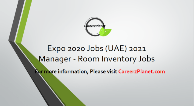 Manager - Room Inventory Jobs in Dubai 14 Apr 2021