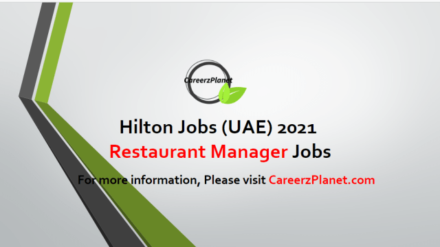 Restaurant Manager PRE-OPENING Jobs 26 Apr 2021