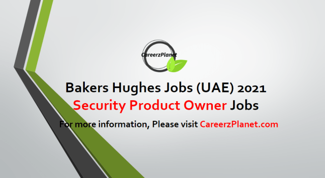 Workday Security Product Owner Jobs in UAE 19 Apr 2021