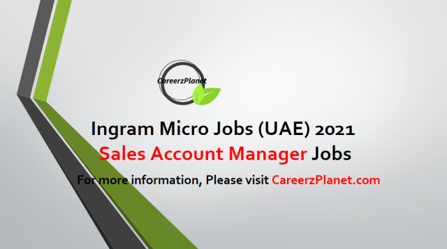 Sales Account Manager Jobs in Dubai 25 Apr 2021