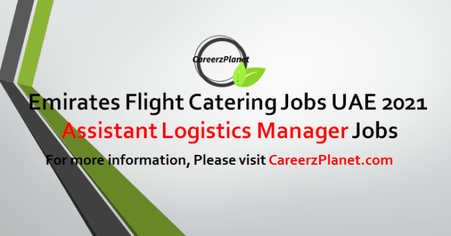Logistics Manager Jobs in UAE 06 May 2021