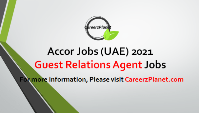 Guest Relations Agent Jobs in UAE 03 May 2021