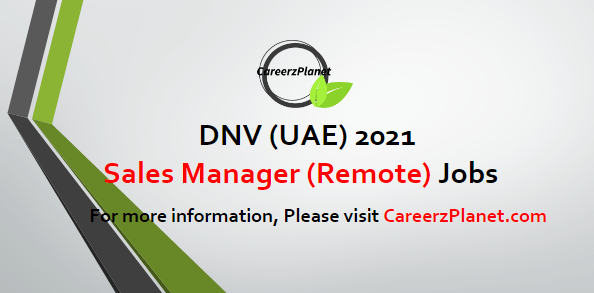 Sales Manager EMEA - Renewables & Structures Jobs in UAE 01 May 2021