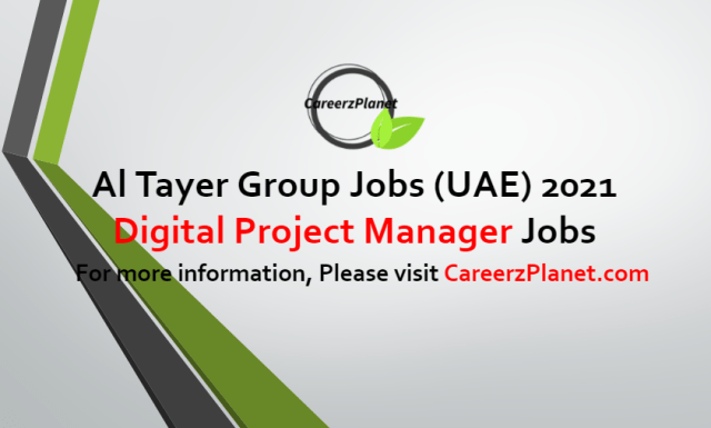 Digital Project manager Jobs in UAE 22 Jun 2021