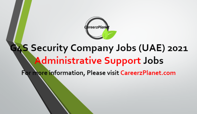 Administrative Support Jobs in UAE 27 Jun 2021