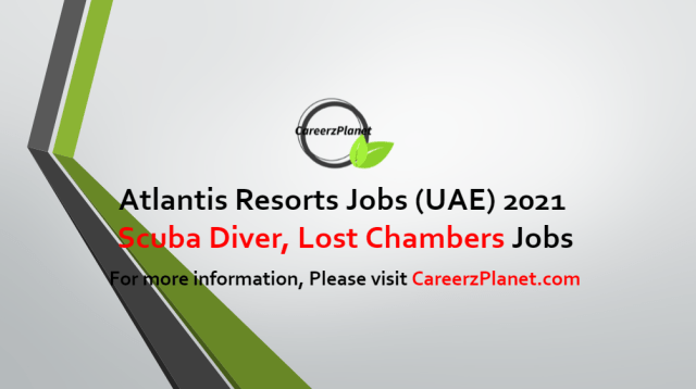 Scuba Diver, Lost Chambers Jobs in UAE 31 Aug 2021