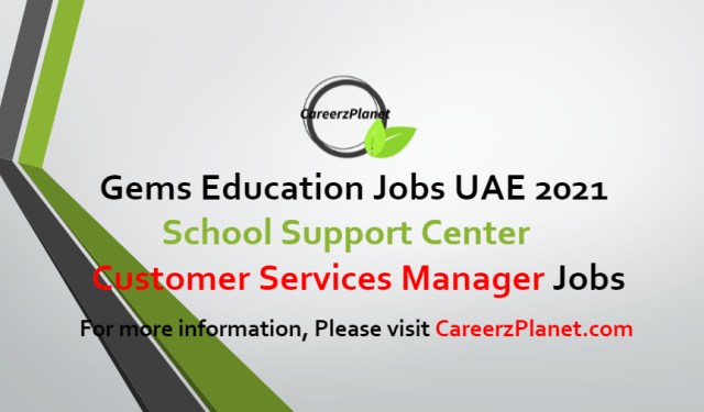 Customer Service Manager Jobs in UAE 08 Jul 2021