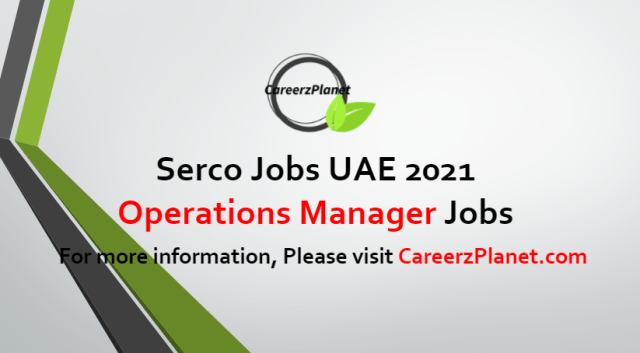 Operation Manager Jobs in UAE 05 Jul 2021