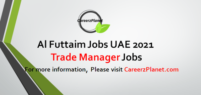Online Trade Manager Job in UAE 26 Aug 2021