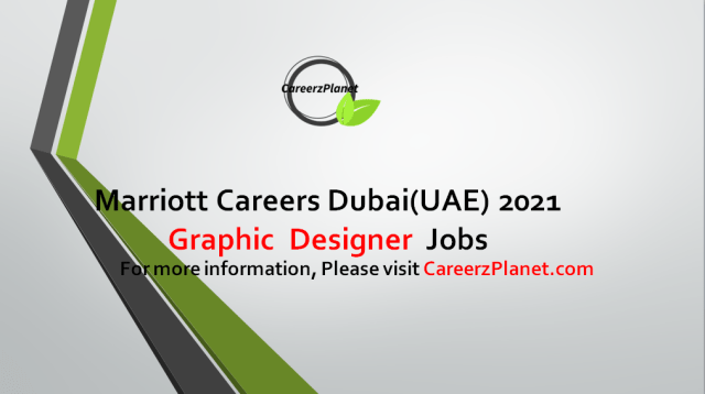 Graphic Designer Jobs Marriott International Dubai 28 Aug 2021 1- Graphic Designer  Job Category:Sales & Marketing Full Time Dubai, United Arab Emirates  Job Summary: A- Designs and produces marketing materials including, but not limited to, advertisements, collateral, signage, flash pieces, electronic brochures and presentations that reflect the brand's image and style in order to drive hotel revenue.  B- Partners with marketing managers and related operational departments as part of a project team providing design and conceptualization solutions pertaining to deliverables. Maintains familiarity with customer demographics and develops an appropriate look and feel for all promotion and event related collateral. C- Monitors the progress of all projects, including the maintenance of project files and archives, and provides continuous communication to the Marketing and/or project team regarding ongoing project and status updates. D- Executes various aspects of production including, printing, scanning, digital retouching, image editing, special effects, and file manipulation and layout.  For more details, please scroll down & see the details.  Last Date to Apply: Sep-15-2021  Marriott Hotel Careers - United Arab Emirates Apply at CareerzPlanet.com