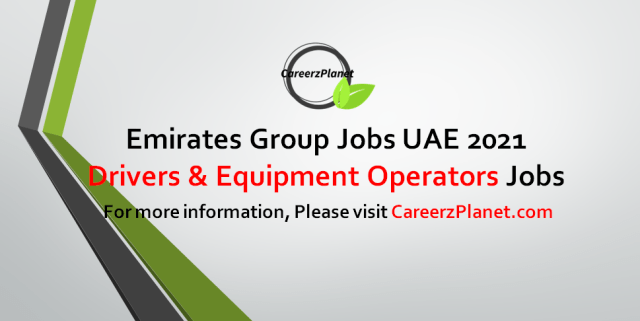 Equipment Operators and Drivers - Airport Operations Jobs in UAE 27 Sep 2021