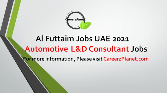 Automotive L&D Consultant | Group HR Jobs in UAE 09 Sep 2021