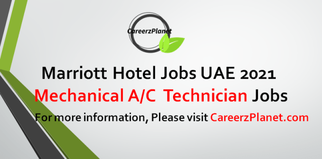 Mechanical Technician Jobs in UAE 14 Sep 2021  Apply at CareerzPlanet.com