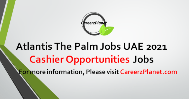 Cashier Opportunities Jobs in UAE 16 Sep 2021