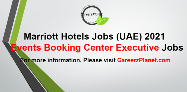 Events Booking Center Executive Jobs in UAE 09 Sep 2021