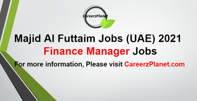 Finance Manager Jobs in UAE 11 Sep 2021