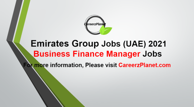 Business Finance Manager Jobs in UAE 05 Oct 2021