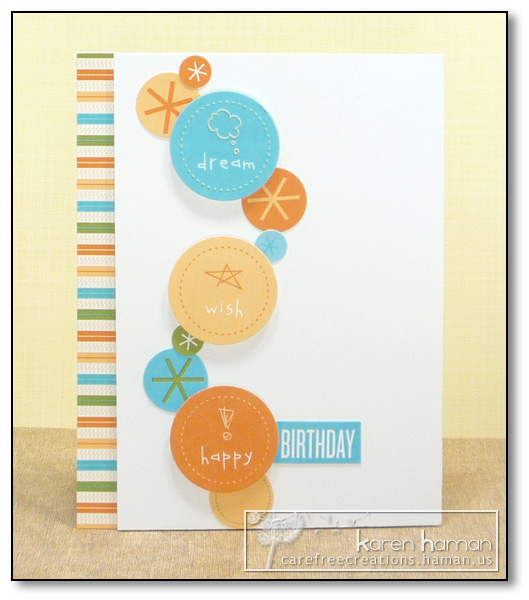 by Karen @ Carefree Creations - Party Pieces Birthday