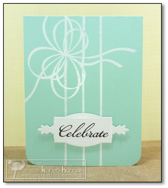 by Karen @ Carefree Creations - Tiffany's Box