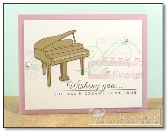 by Karen @ Carefree Creations - Piano Collage