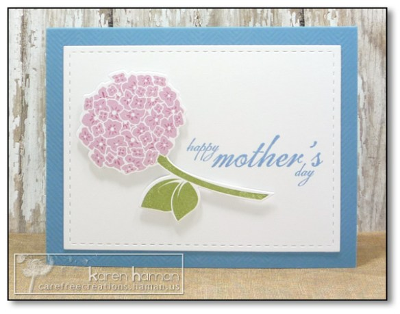 by Karen @ carefree creations: Mother's Day Hydrangea
