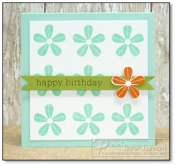 by Karen @ carefree creations - Flower Spot