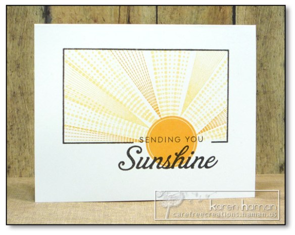 by Karen @ carefree creations - Sending Sunshine