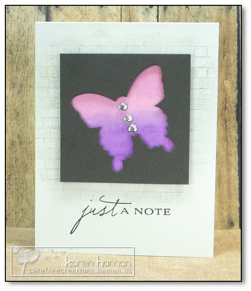 by Karen @ carefree creations - Inspired Butterfly