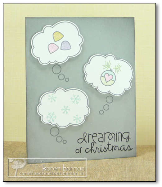 by karen @ carefree creations - Dreaming of Christmas