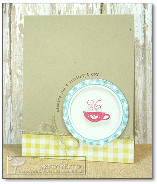 by karen @ carefree creations - Country Tea