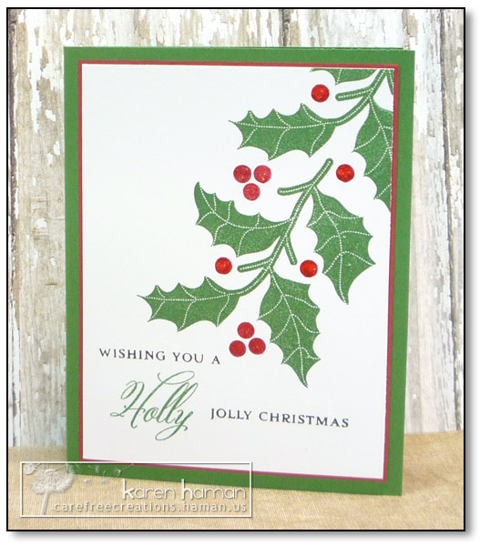 by karen @ carefree creations - Holly Jolly