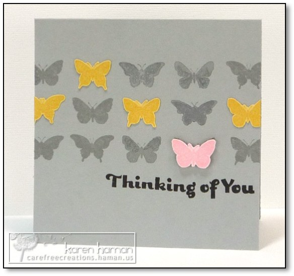 by karen @ carefree creations - Butterfly Grid