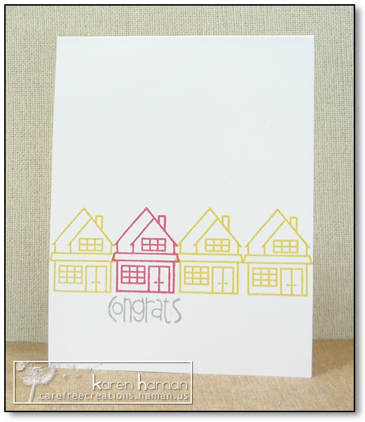 by karen @ carefree creations - New House