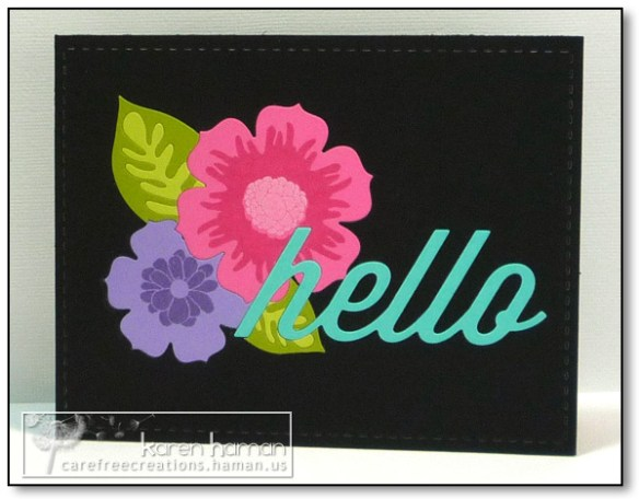 Hello Bright Colors - by karen @ carefree creations