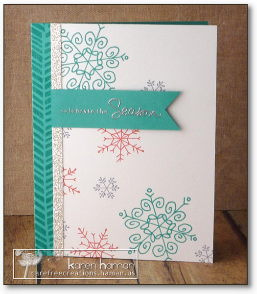 Bright Snowflakes - by karen @ carefree creations