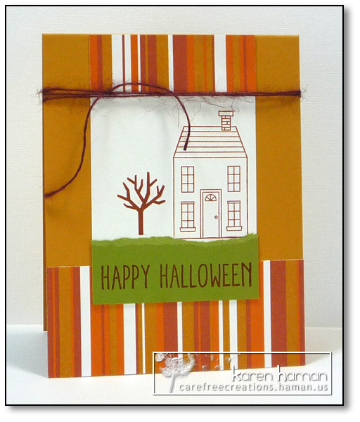 Halloween Home - by karen @ carefree creations