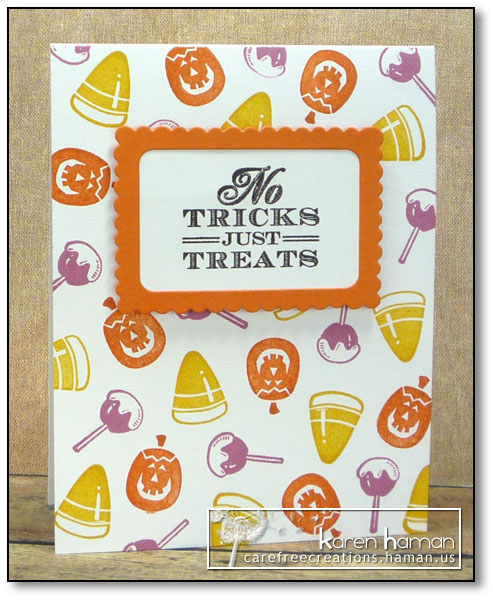 No Tricks - by karen @ carefree creations