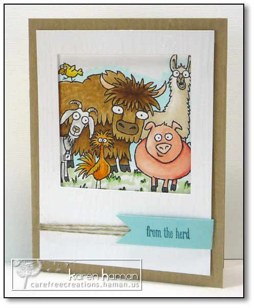 Boss' Herd - by karen @ carefree creations