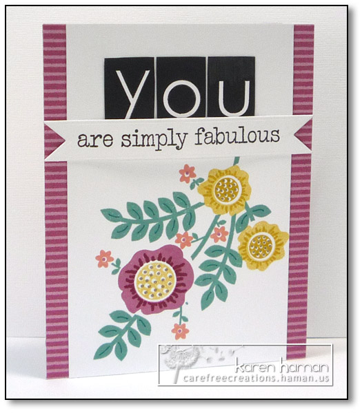 Simply Fabulous - by karen @ carefree creations