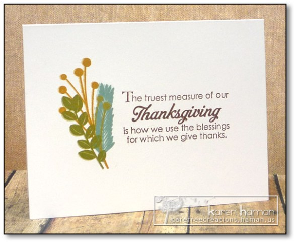 Thanksgiving | karen h @ carefree creations