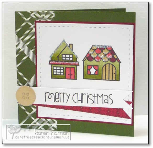 Merry Bungalows | by karen @ carefree creations