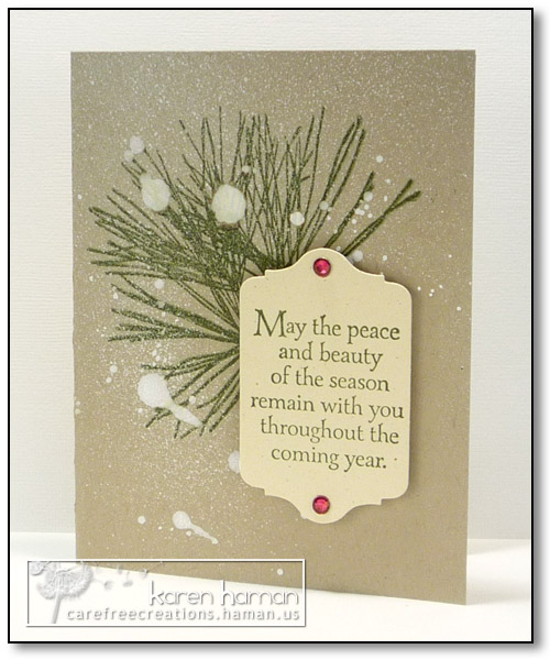 Peace & Beauty | by karen @ carefree creations
