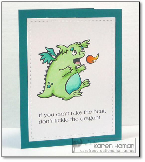 Snarky Dragon | by karen @ carefree creations