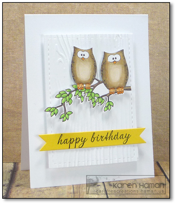 Birthday Owls | by karen @ carefree creations