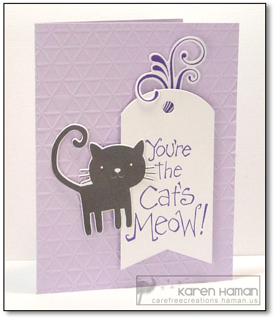 Cat's Meow | by karen @ carefree creations