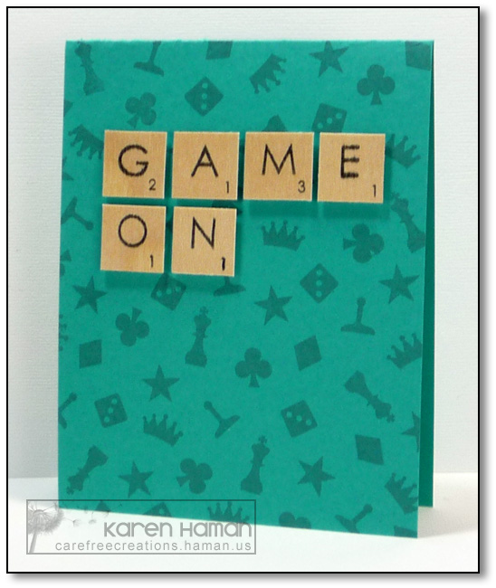 Game On | by karen @ carefree creations