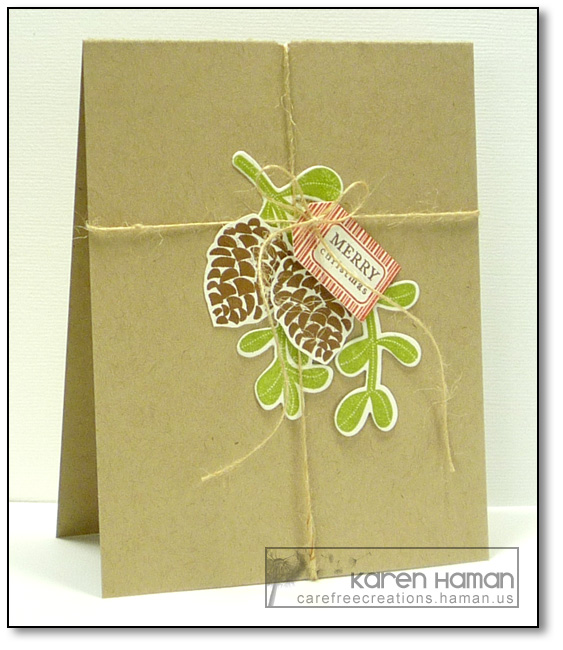 Simple Package | by karen @ carefree creations